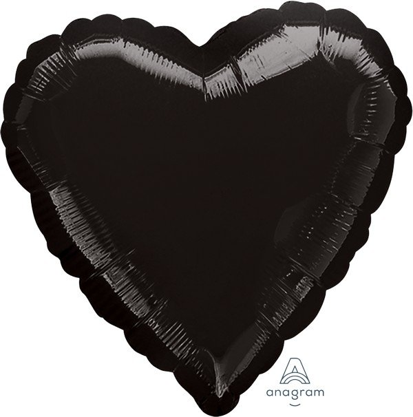 45cm Standard Heart HX Black S15