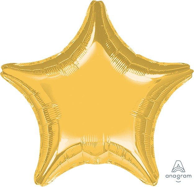 Jumbo Shape Gold Star P20