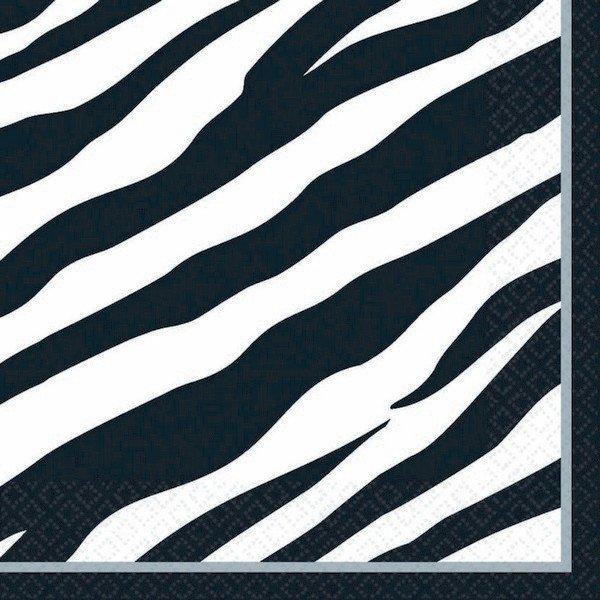 Zebra MID  Pack Lunch Napkins