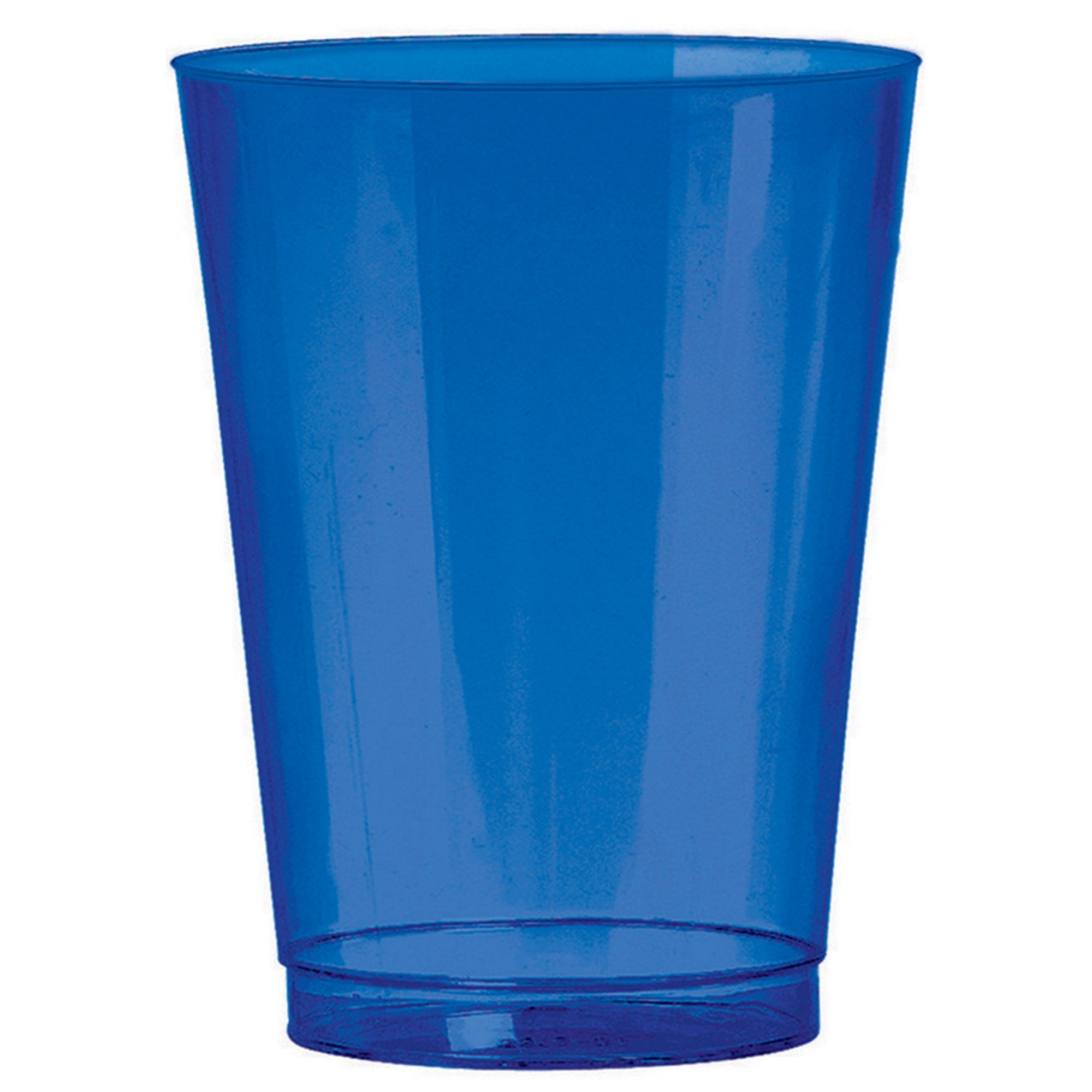Big Party Pack 295ml Plastic Tumblers Bright Royal Blue