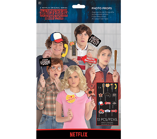 Stranger Things Photo Props Kit