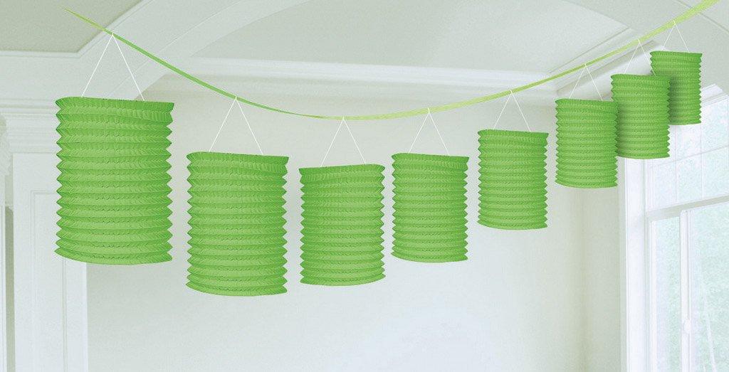 Paper Lantern Garland-Kiwi