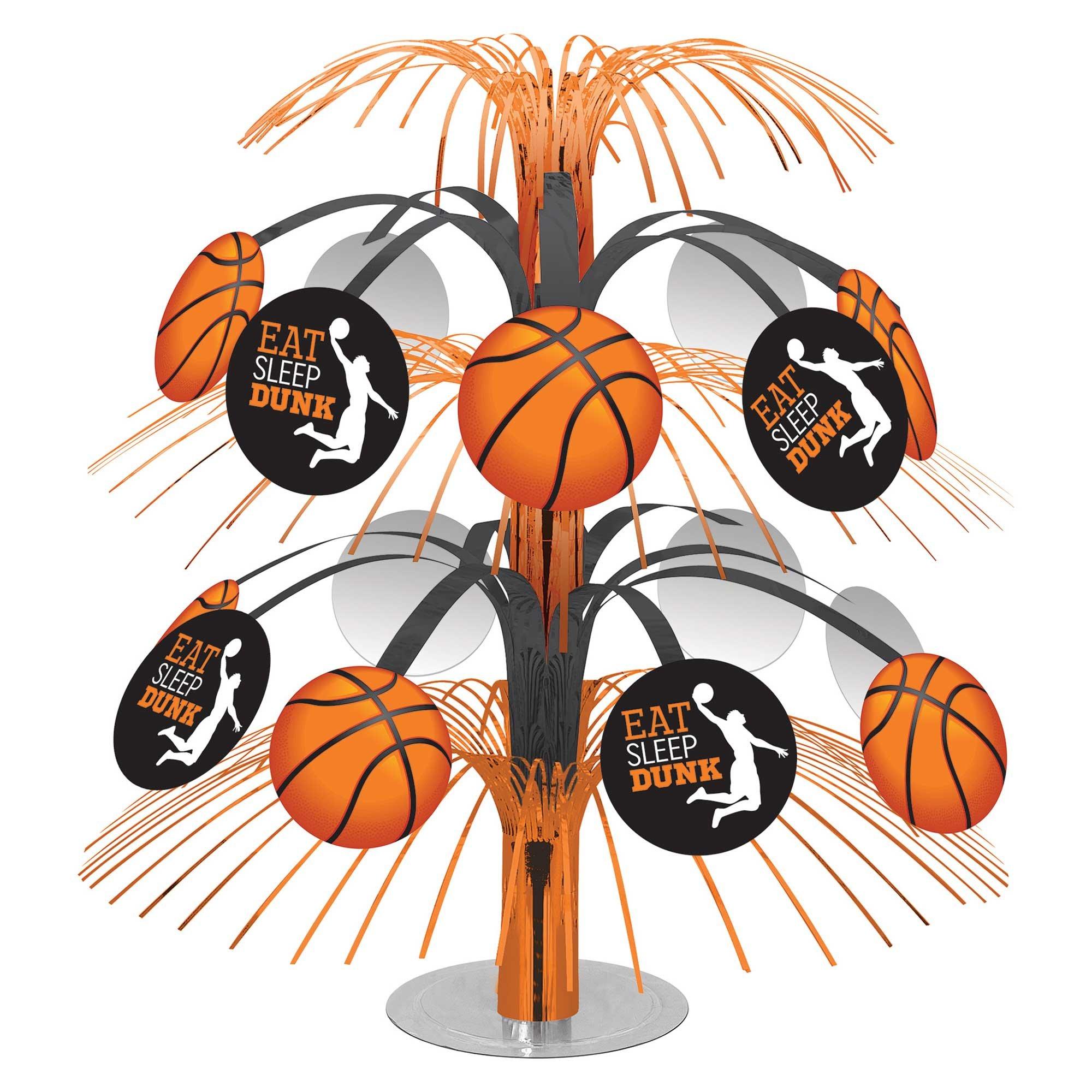Nothin' But Net Basketball Cascade Centrepiece