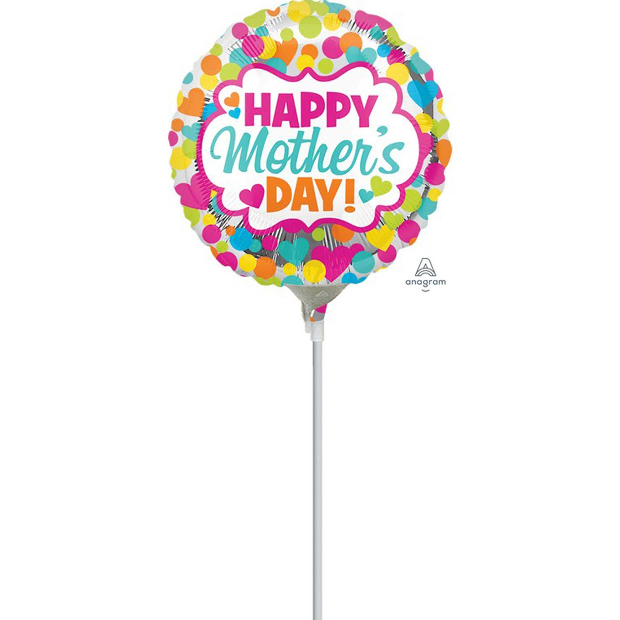22cm Happy Mother's Day Dots & Hearts A15