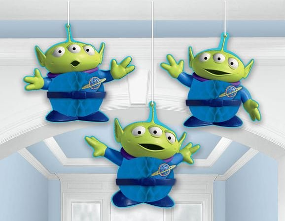 Honeycomb Decorations Toy Story Power Up