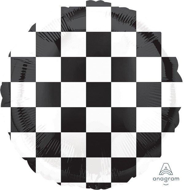 45cm Standard HX Checkerboard Balloon S30