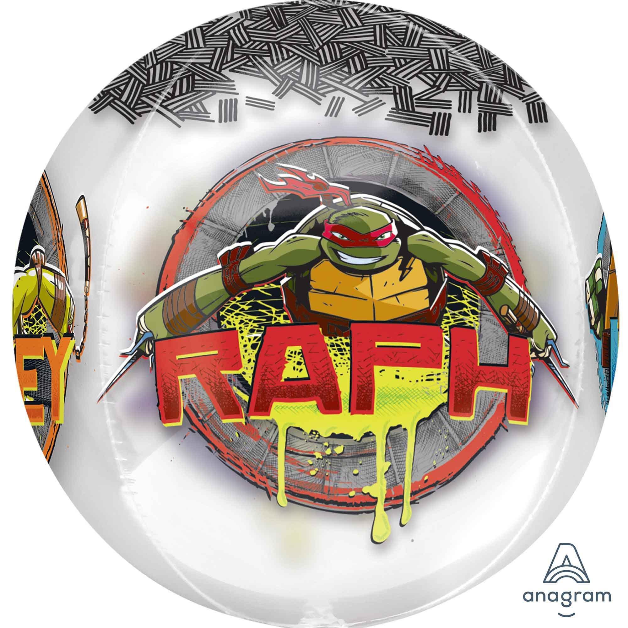 Orbz XL Teenage Mutant Ninja Turtles Clear G40