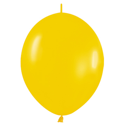 Sempertex 28cm Link O Loon Fashion Goldenrod Latex Balloons 021, 25PK