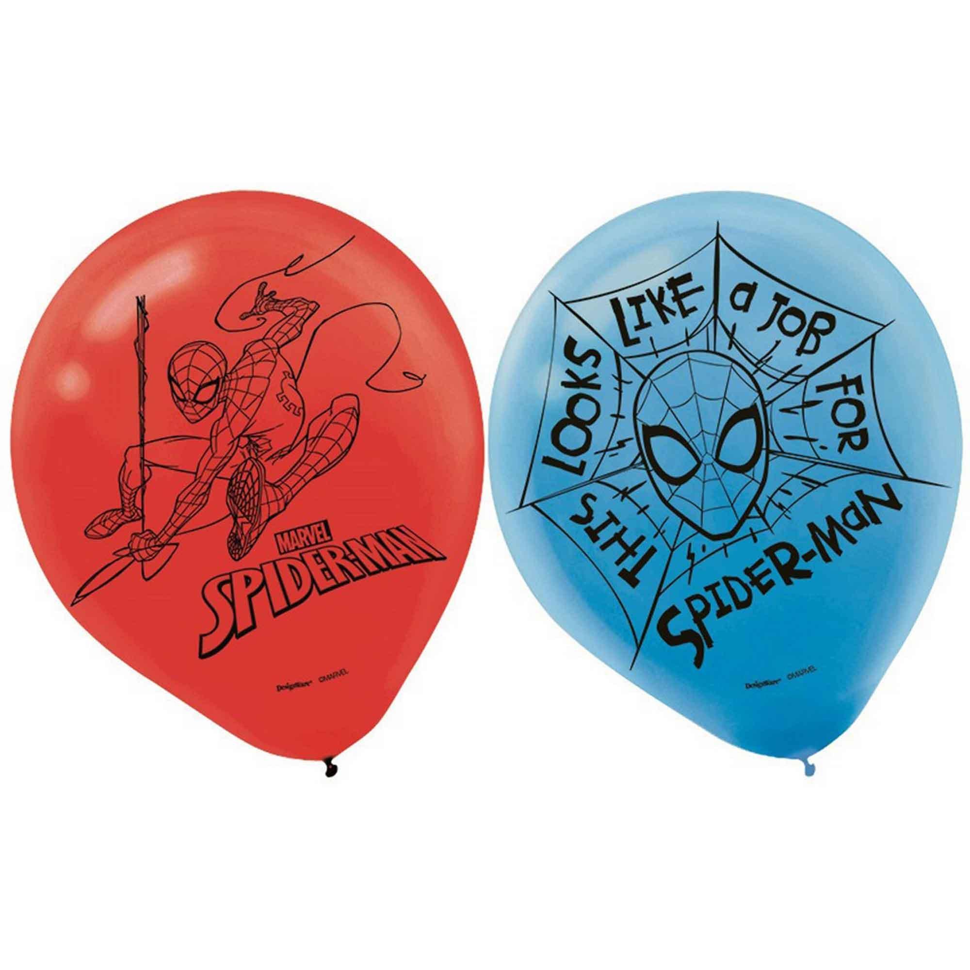 Spider-Man Webbed Wonder 30cm Latex Balloons