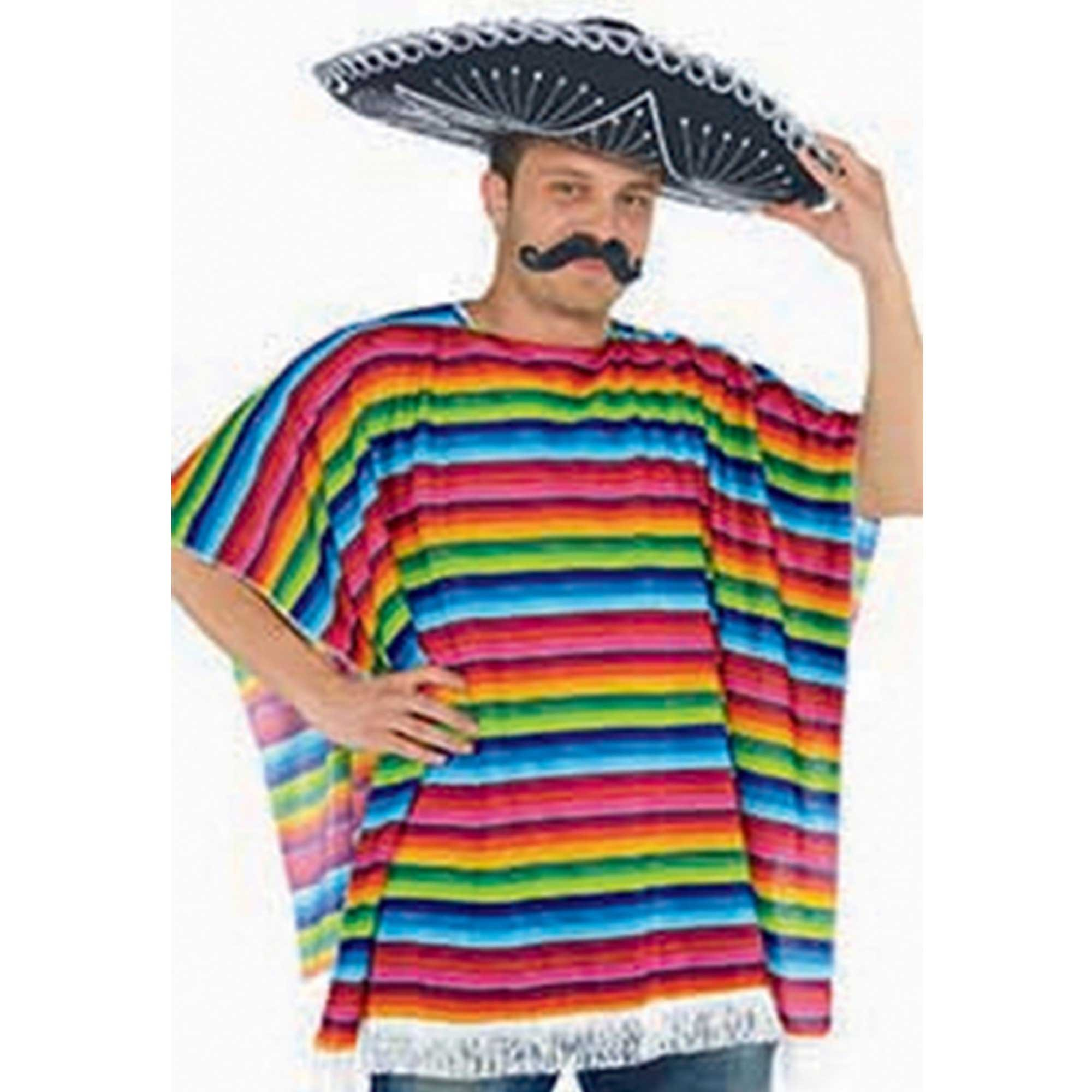 Fiesta Multi Coloured Serape