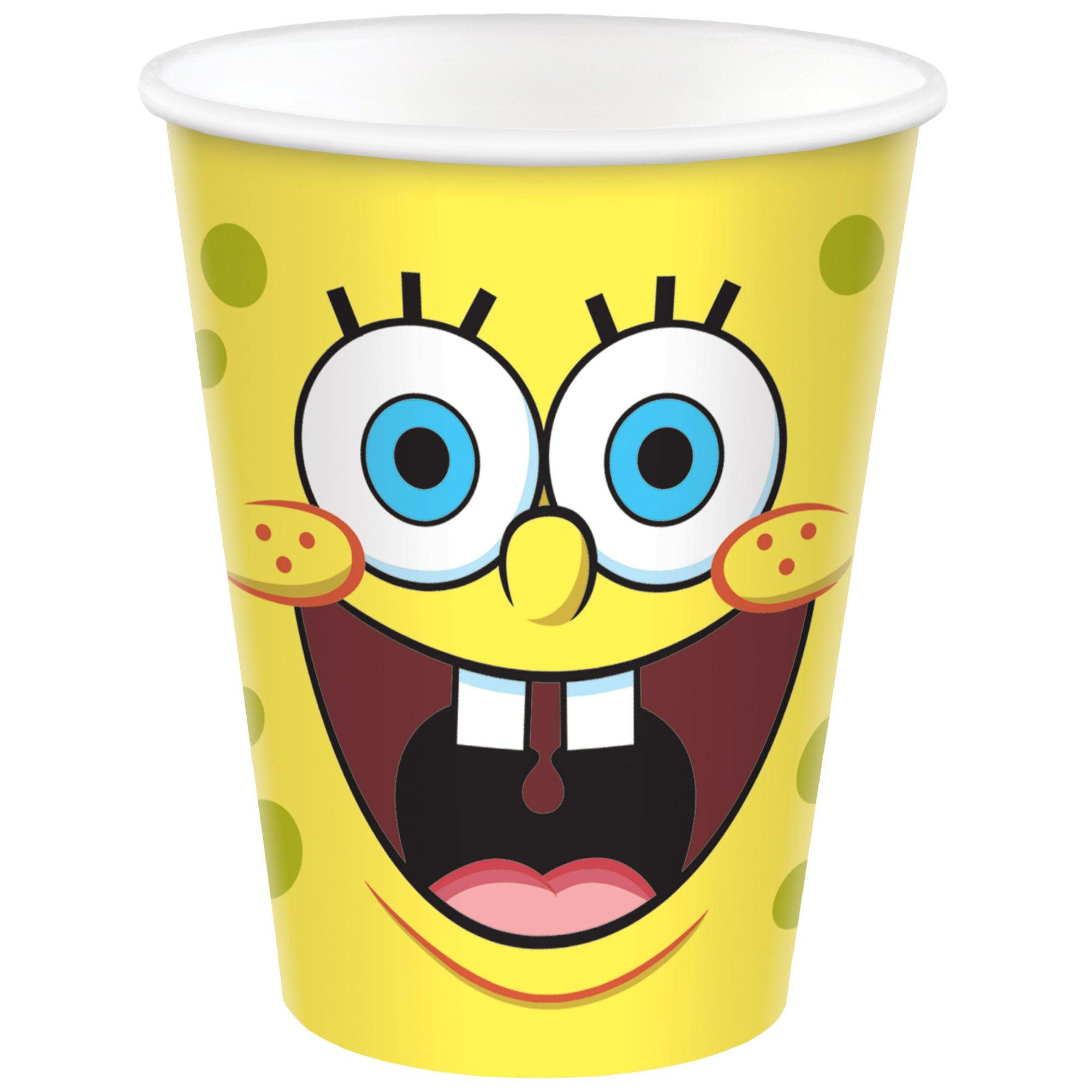 SpongeBob 9oz / 266ml Paper Cups