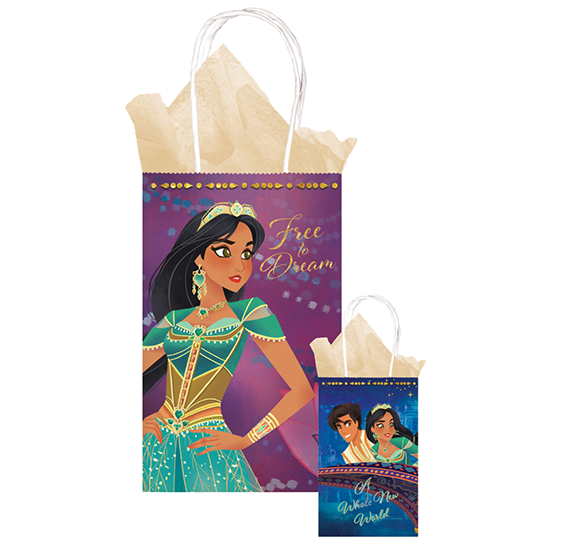 Aladdin Printed Kraft Bags