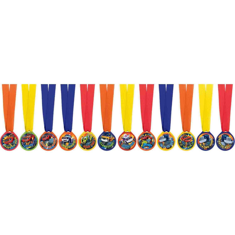 Blaze Mini Award Medal Favor