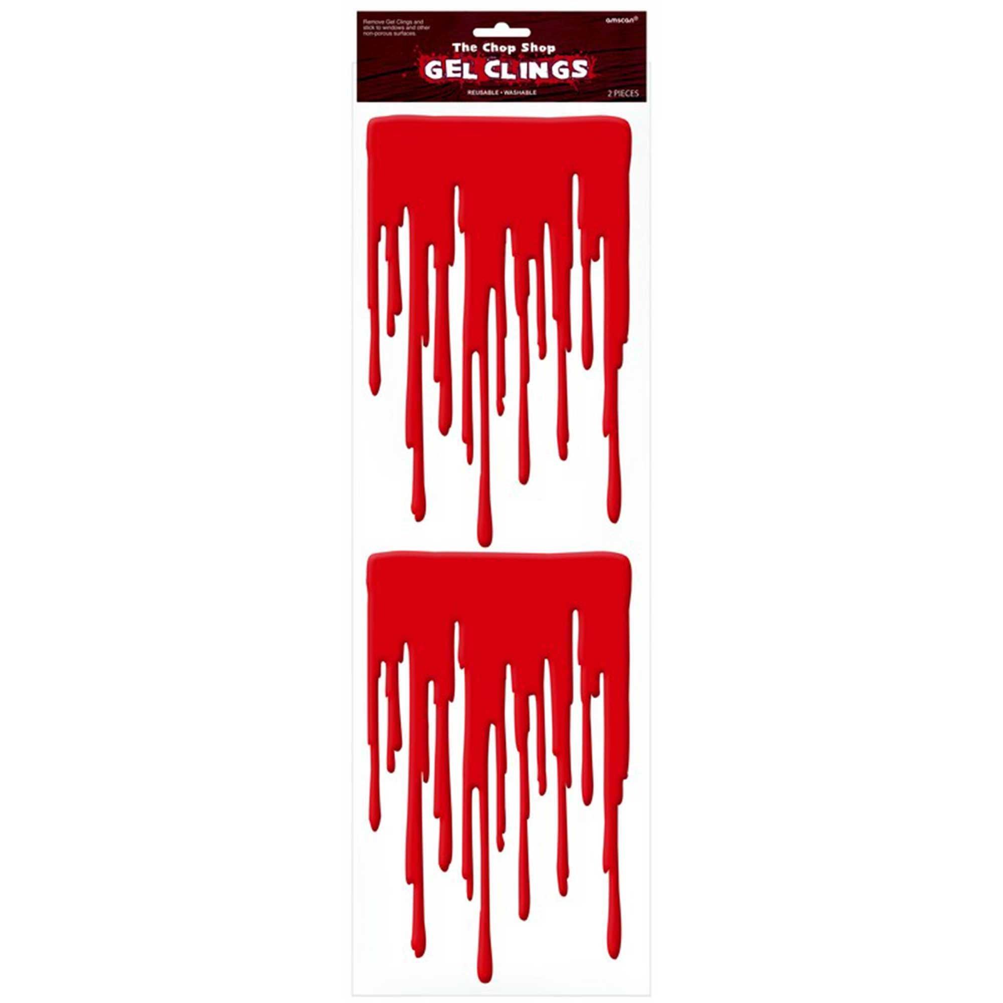 Bloody Drips Gel Clings