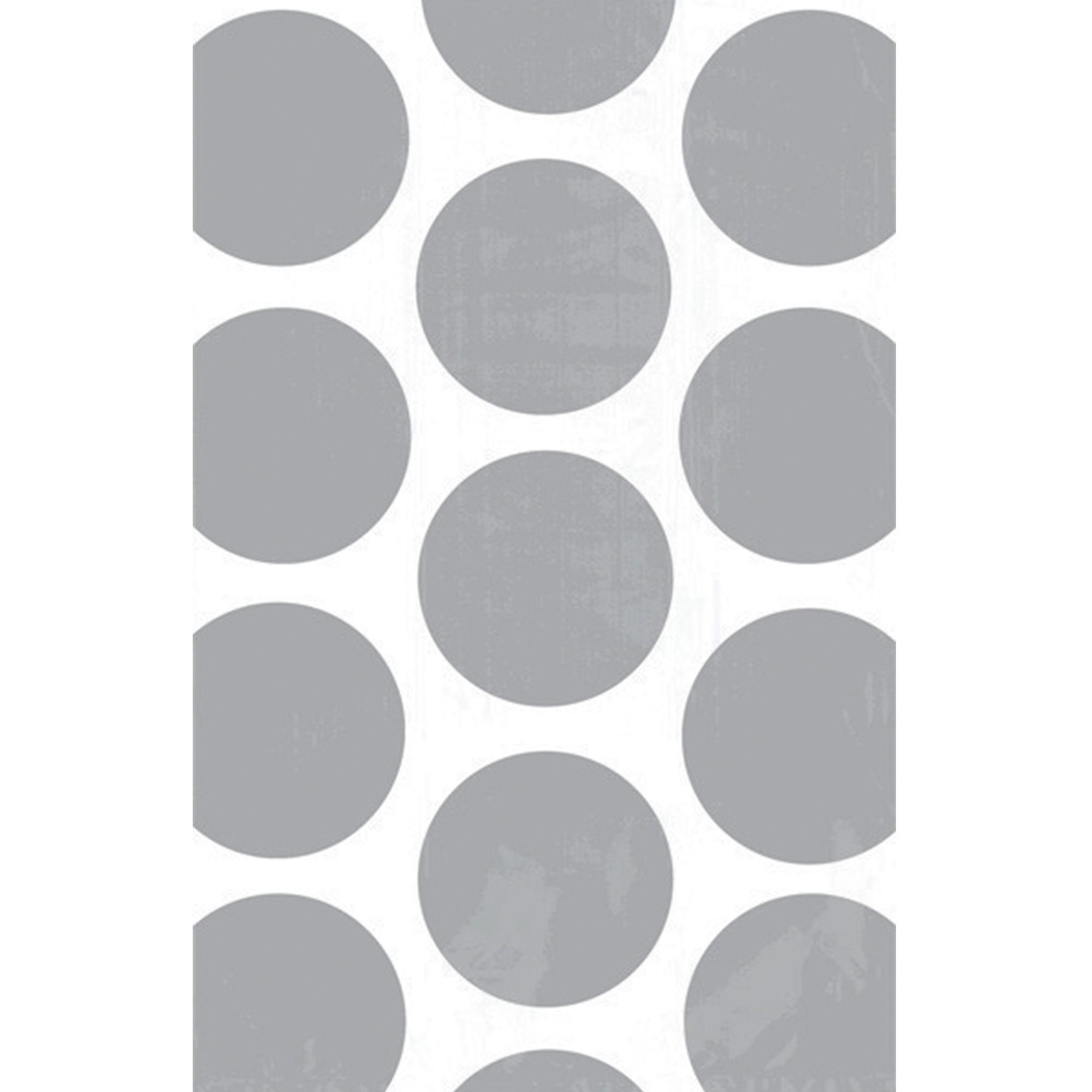 Paper Bag Polka Dot Silver