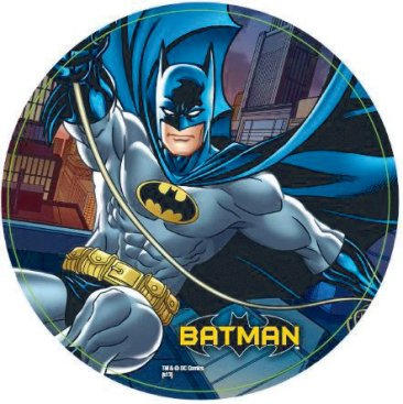 Batman 23cm Plates