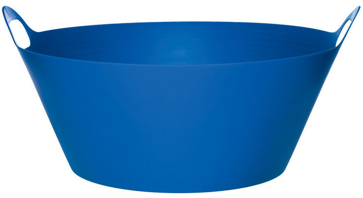 Round Party Tub Blue 30L / 50cm