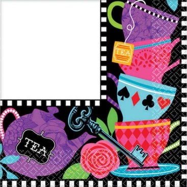 Mad Tea Party Lunch Napkins
