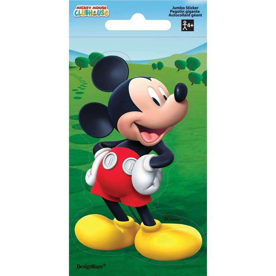 Stickers Jumbo Favor Mickey Mouse