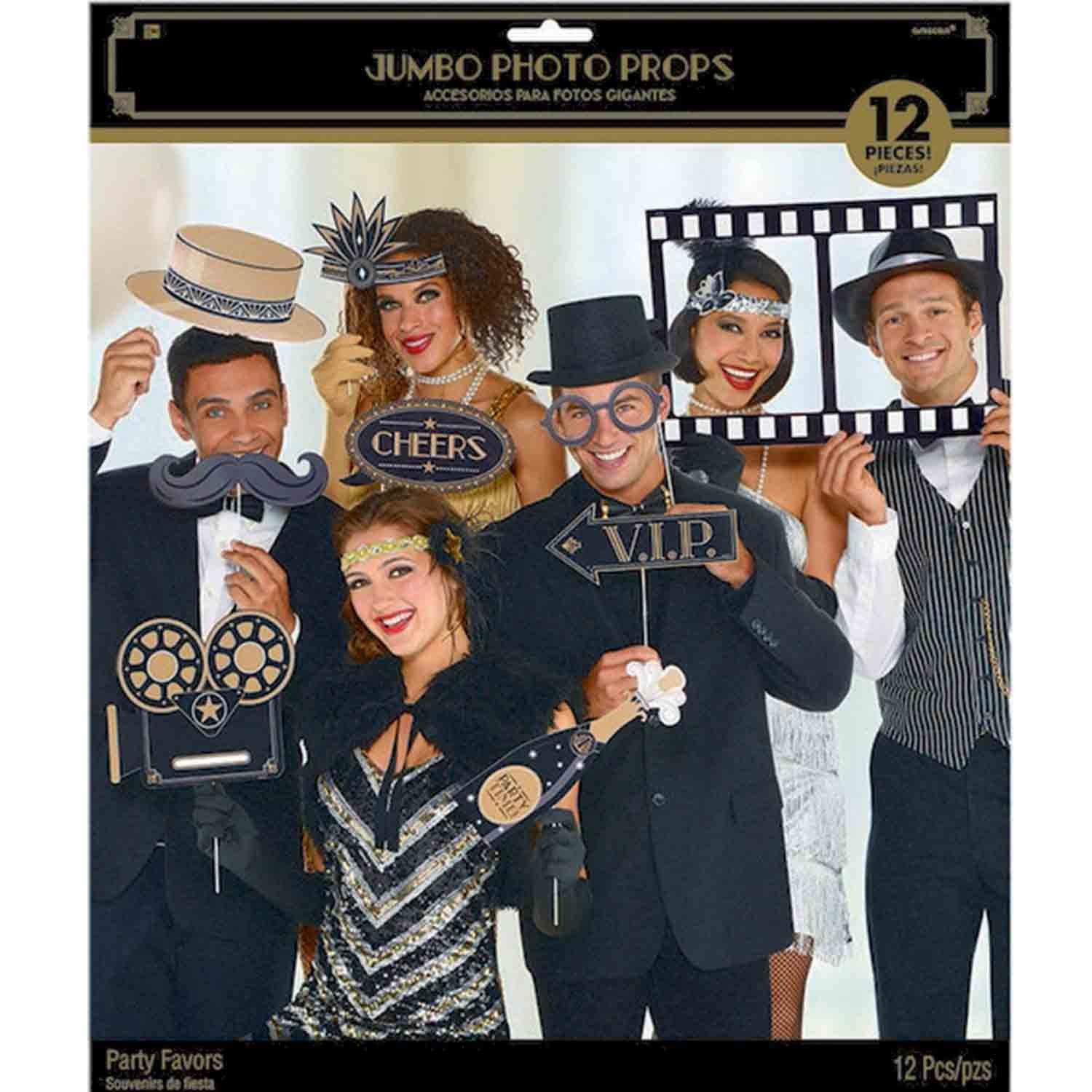 Glitz & Glam Jumbo Photo Prop Kit