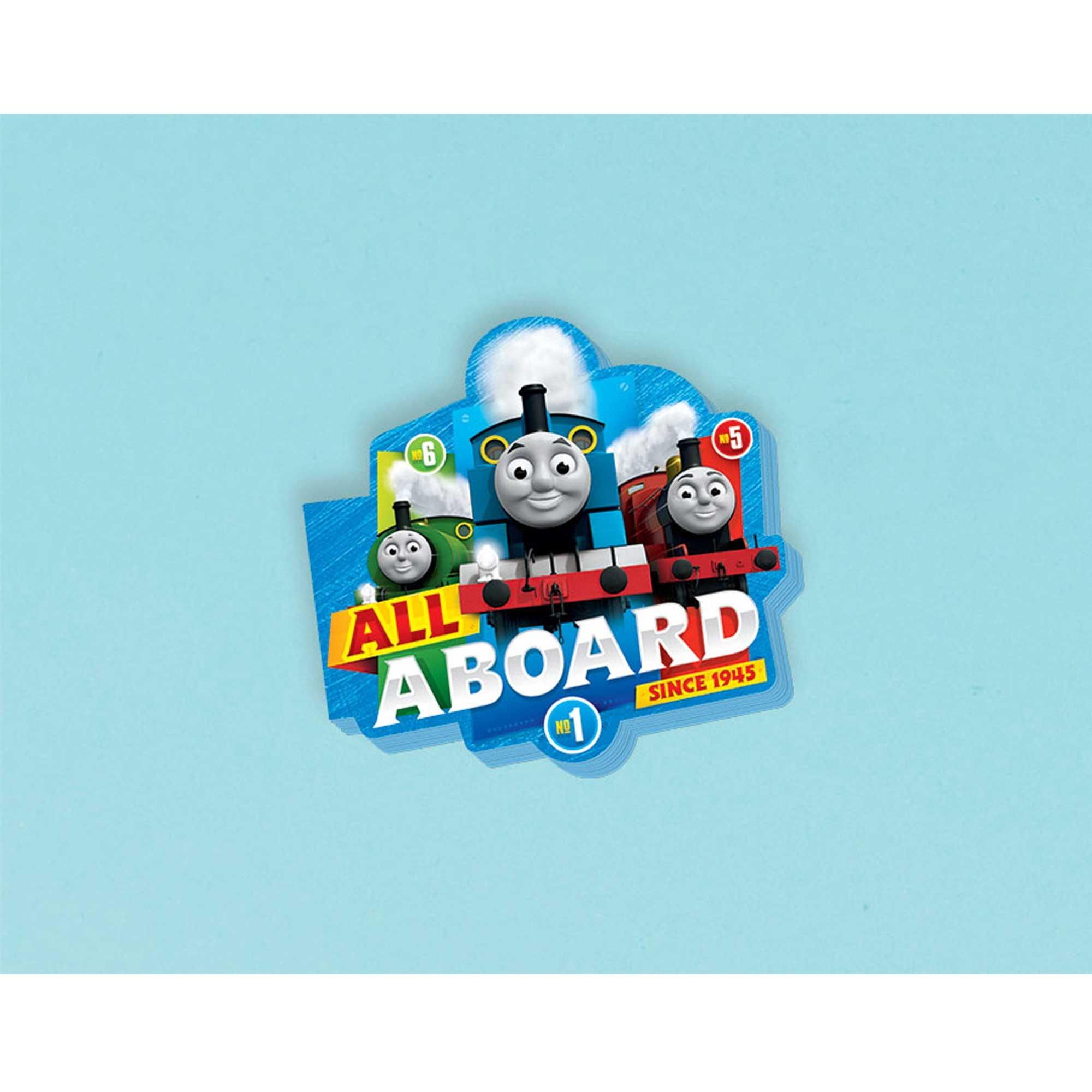 Thomas All Aboard Die Cut Mini Notepad Favor