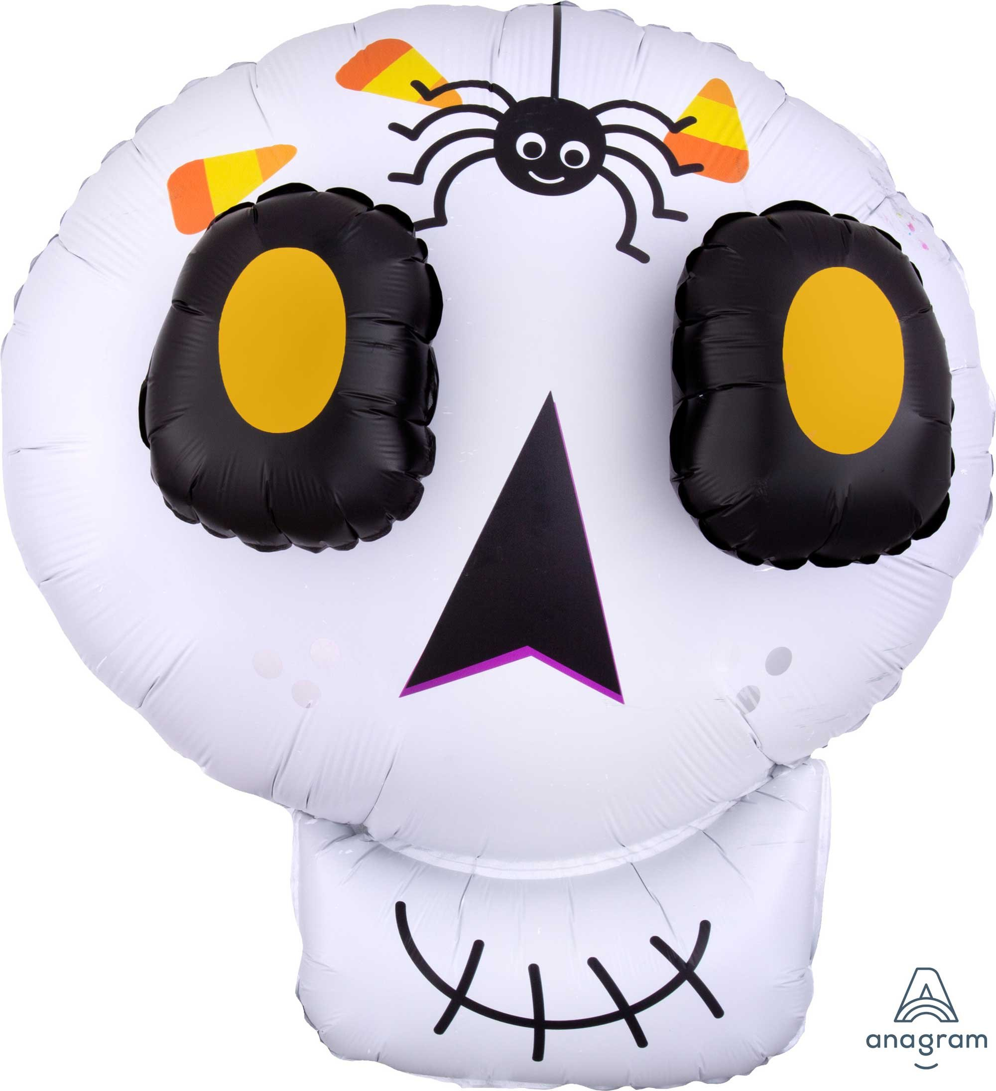 SuperShape EZ Fill Multi-Balloon 3D Cute Halloween Skull P60