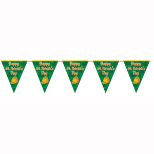 Pennant Flag Banner Happy St Patrick's Day