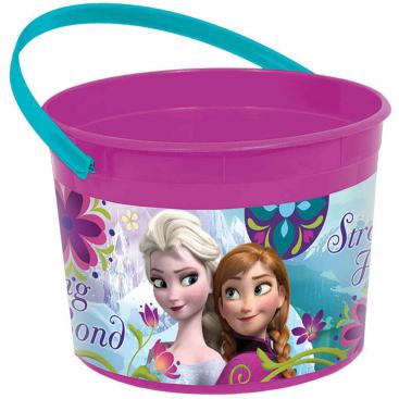 Frozen Plastic Favor Container
