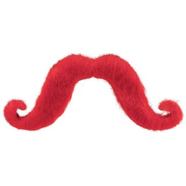 Moustache - Red