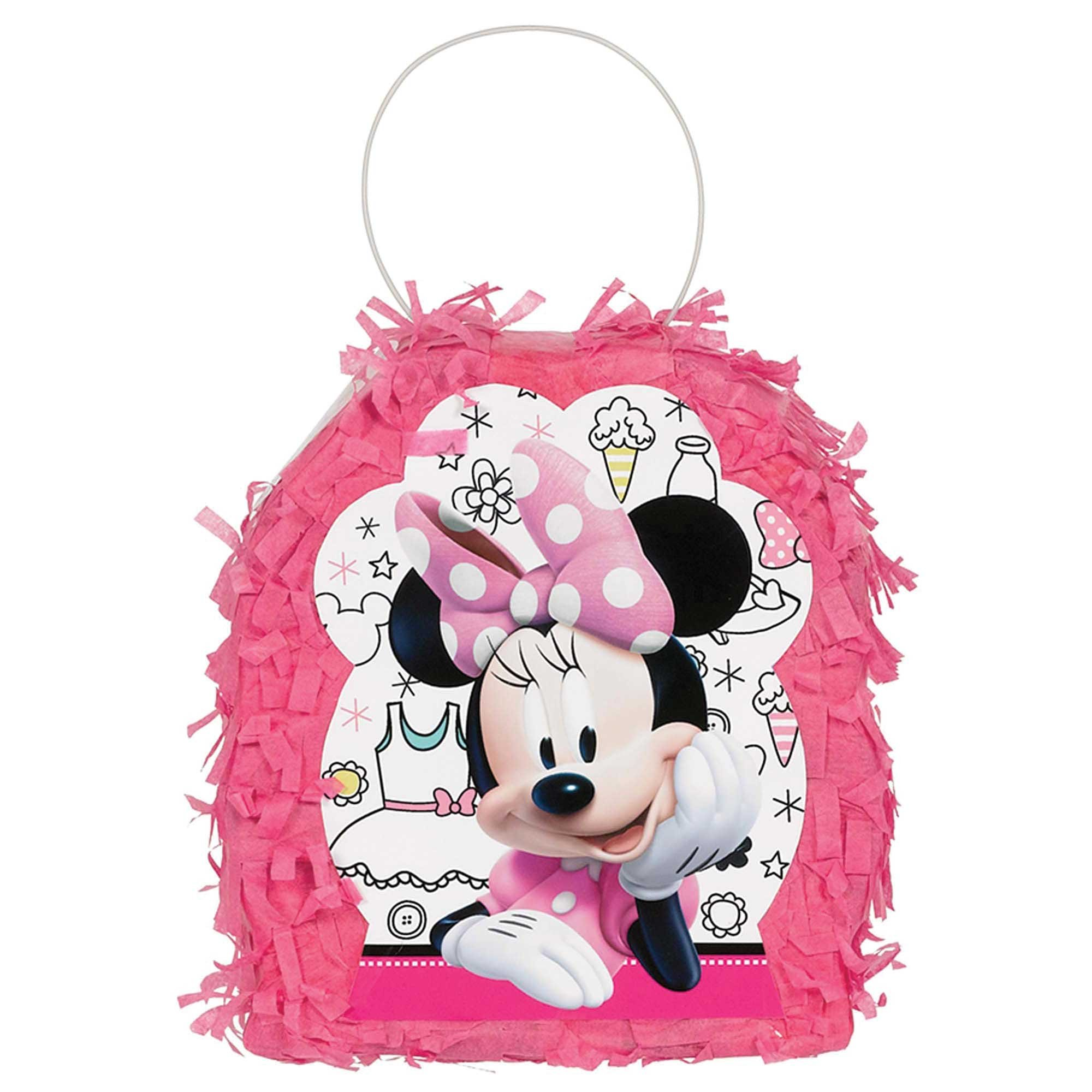 Minnie Mouse Happy Helpers Mini Pinata Favor Container