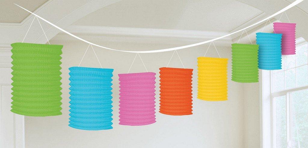 Paper Lantern Garland-Multi