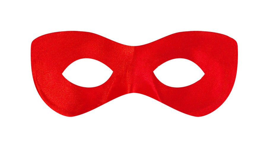 Super Hero Mask - Red