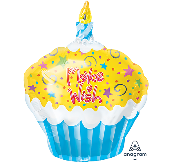 Junior Shape Make a Wish Cupcake S50