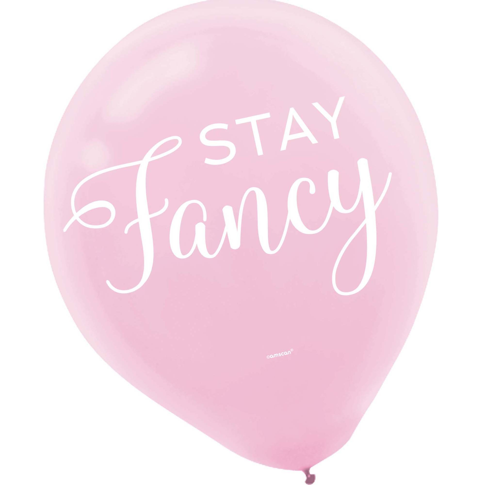 30cm Confetti Fun  Latex Balloons