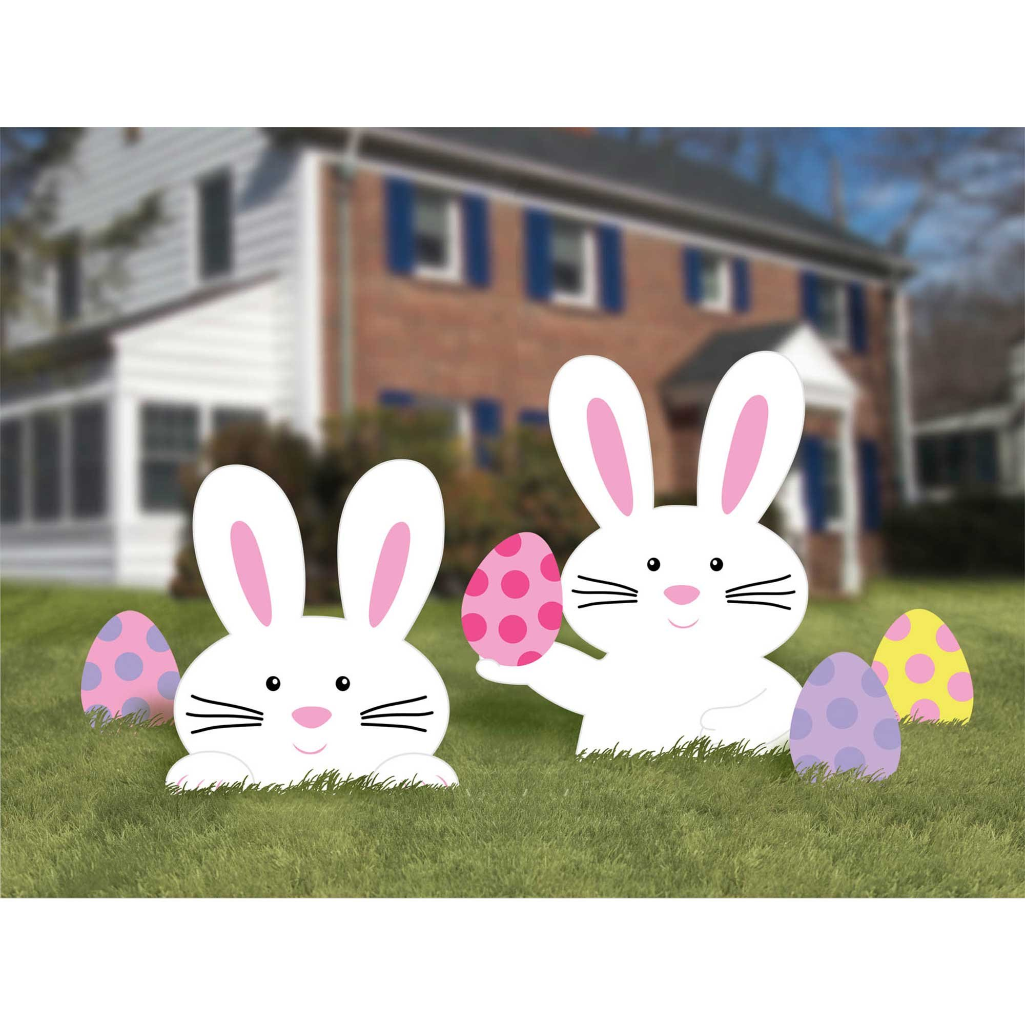 Easter Bunny Assorted Yard Signs