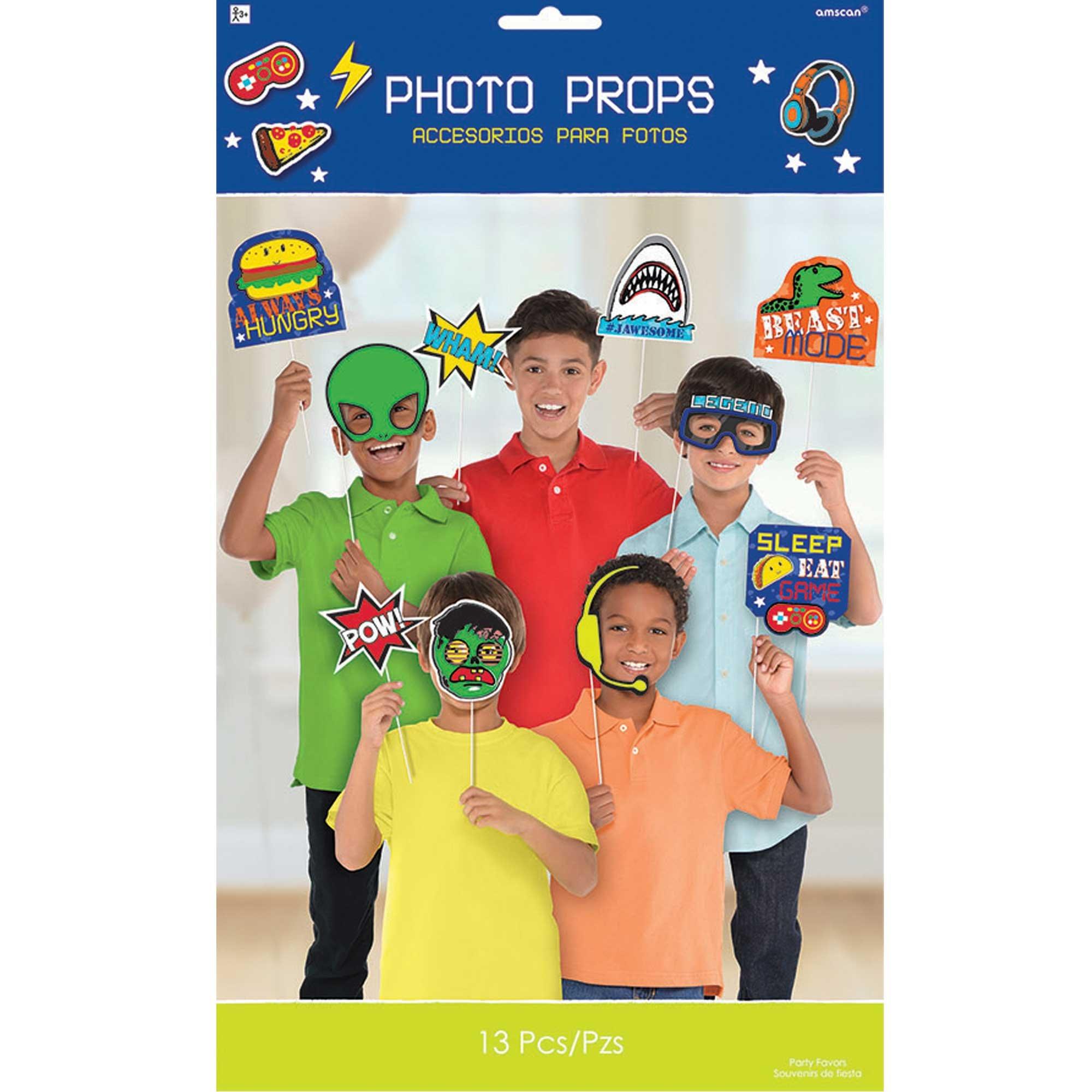 Epic Party Photo Props Kit Asst Sizes & Designs
