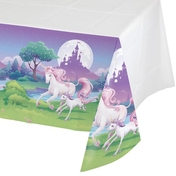 Unicorn Fantasy Tablecover Plastic