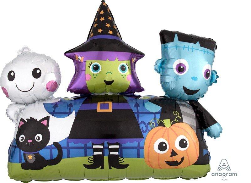 SuperShape XL Halloween Friends P35