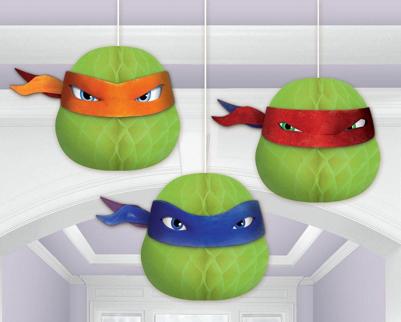 Teenage Mutant Ninja Turtles Honeycomb Decorations