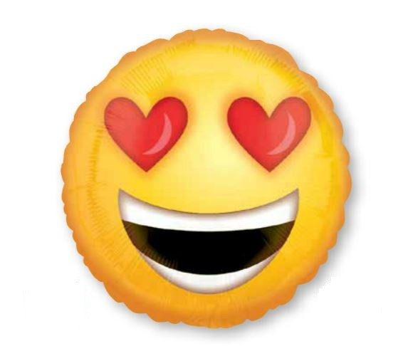 45cm Standard HX Love Heart Eyes Emoticons S40