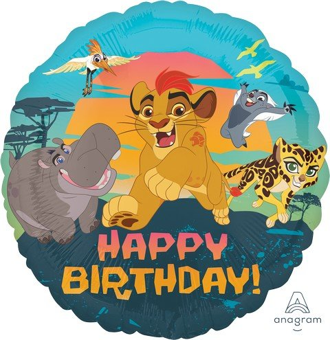 45cm Standard HX Lion Guard Happy Birthday S60