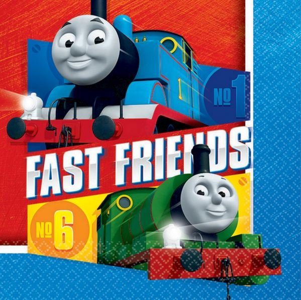 Thomas All Aboard Lunch Napkins