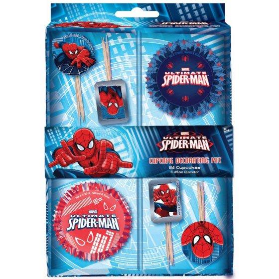 Ultimate Spider-Man Cupcake Kit