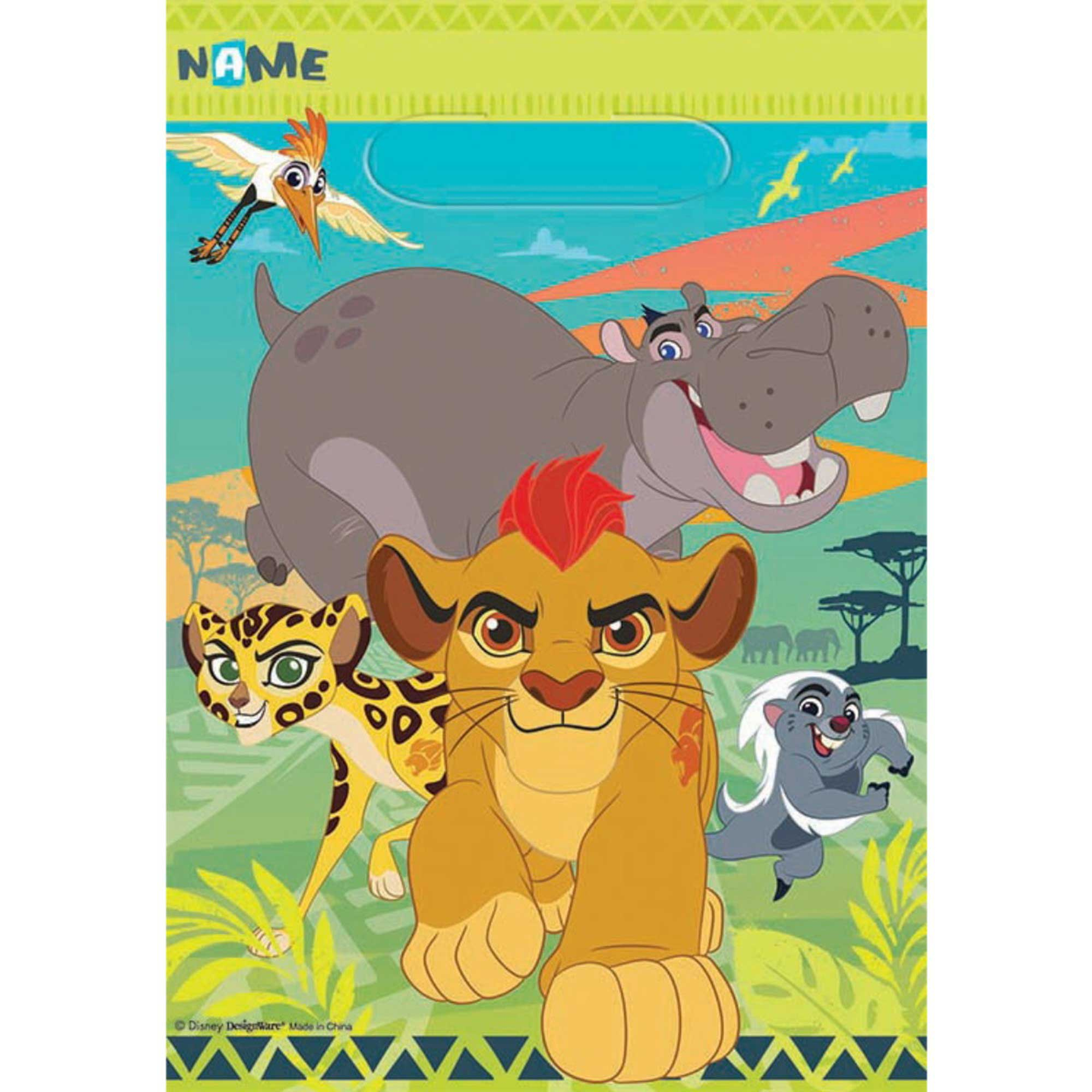 The Lion Guard Folded Loot Bag