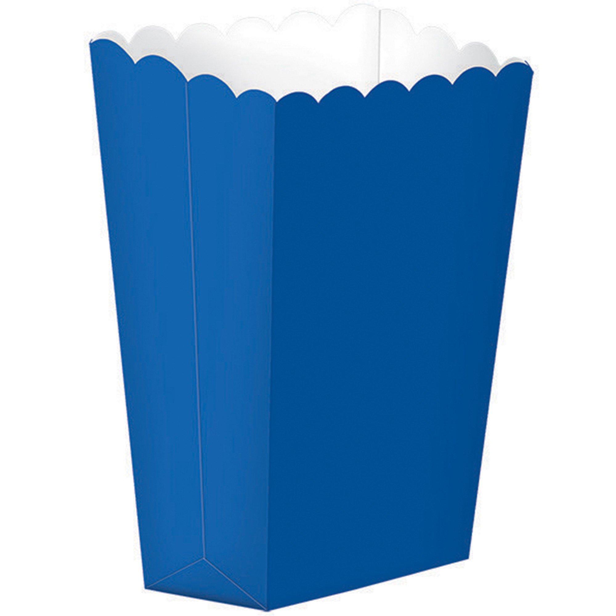 Popcorn Favor Boxes Small Bright Royal Blue