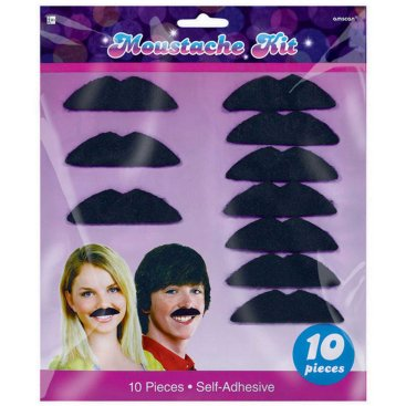 Disco Fever Moustaches