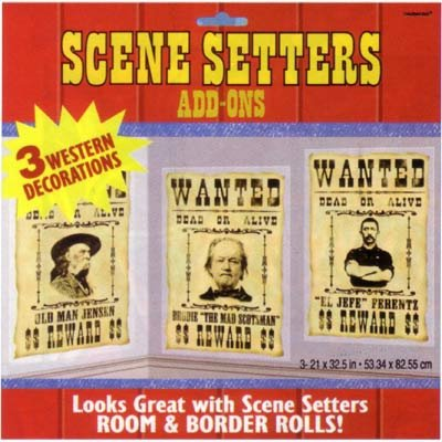 Wanted Posters Scene Setter Add-On