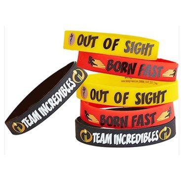 Incredibles 2 Rubber Bracelet Favor