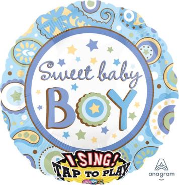Sing-A-Tune Sweet Baby Boy XL P60