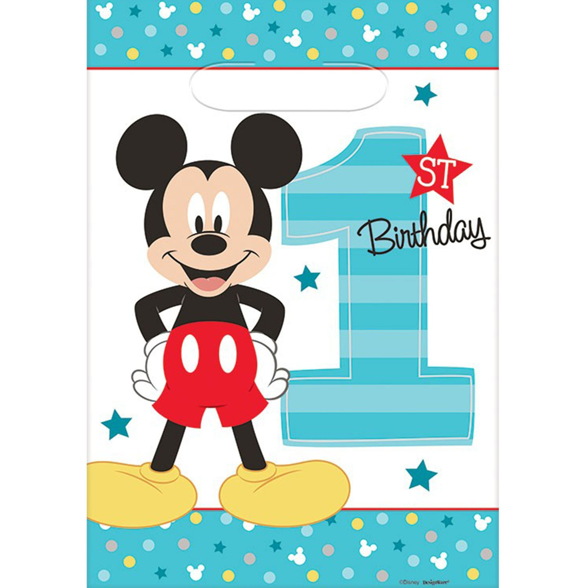 Mickey Fun To Be One Folded Loot Bag